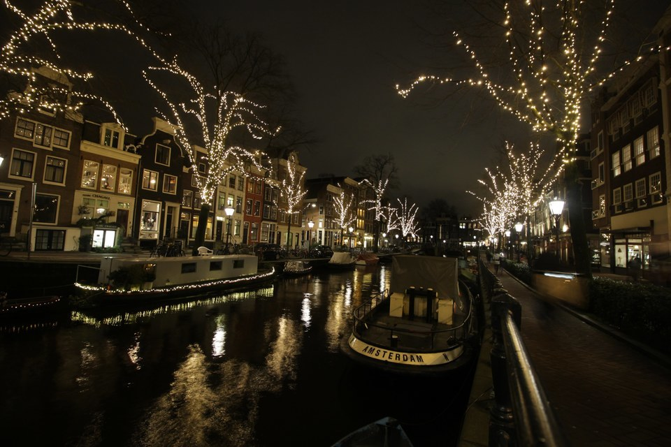 A cozy Christmas in Amsterdam