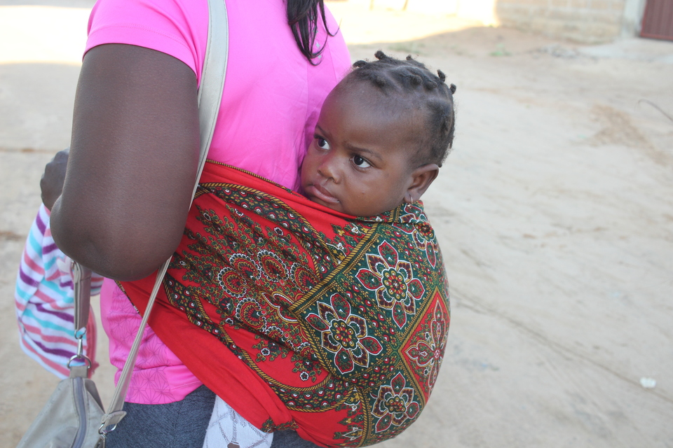Being a mother in Mozambique